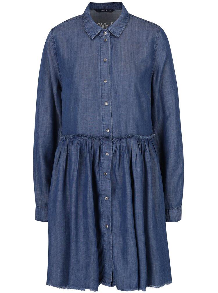 Rochie cămașă din denim - ONLY Tess