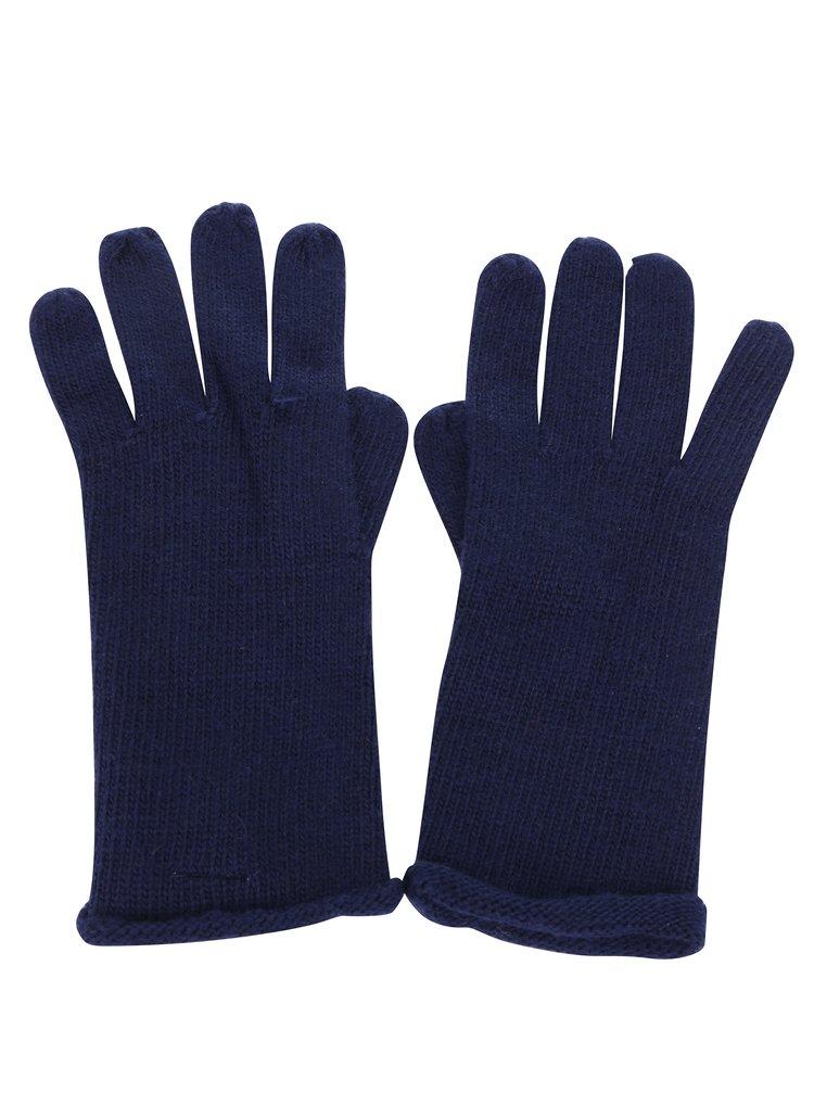 Mănuși bleumarin tricotate fin - ONLY Nautical