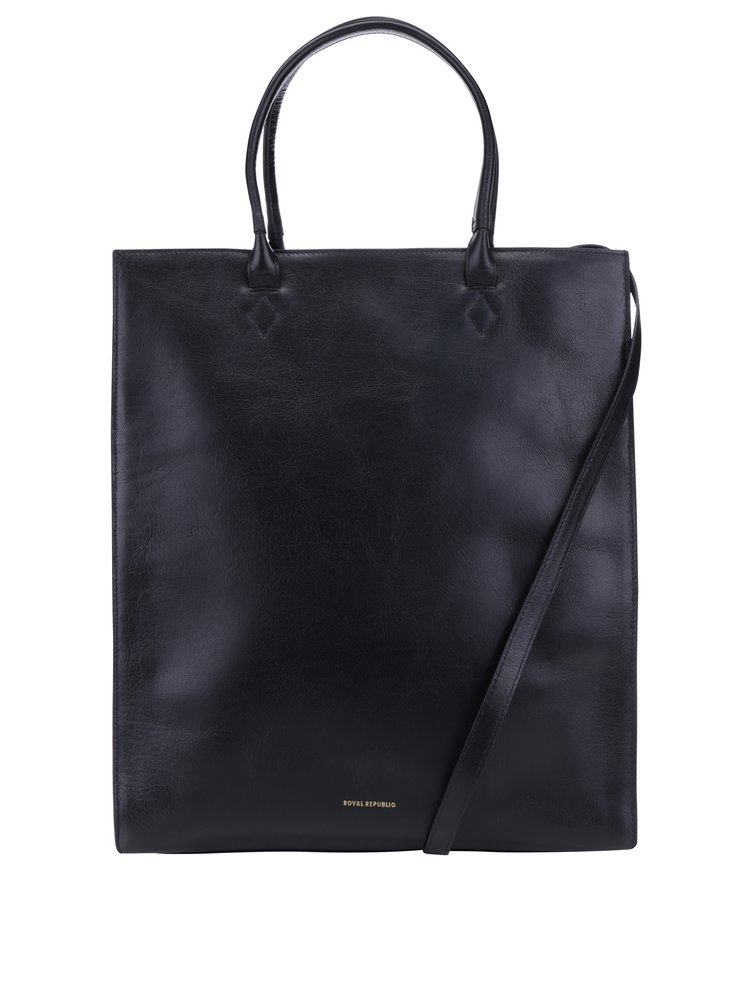 Černá kožená kabelka Royal RepubliQ