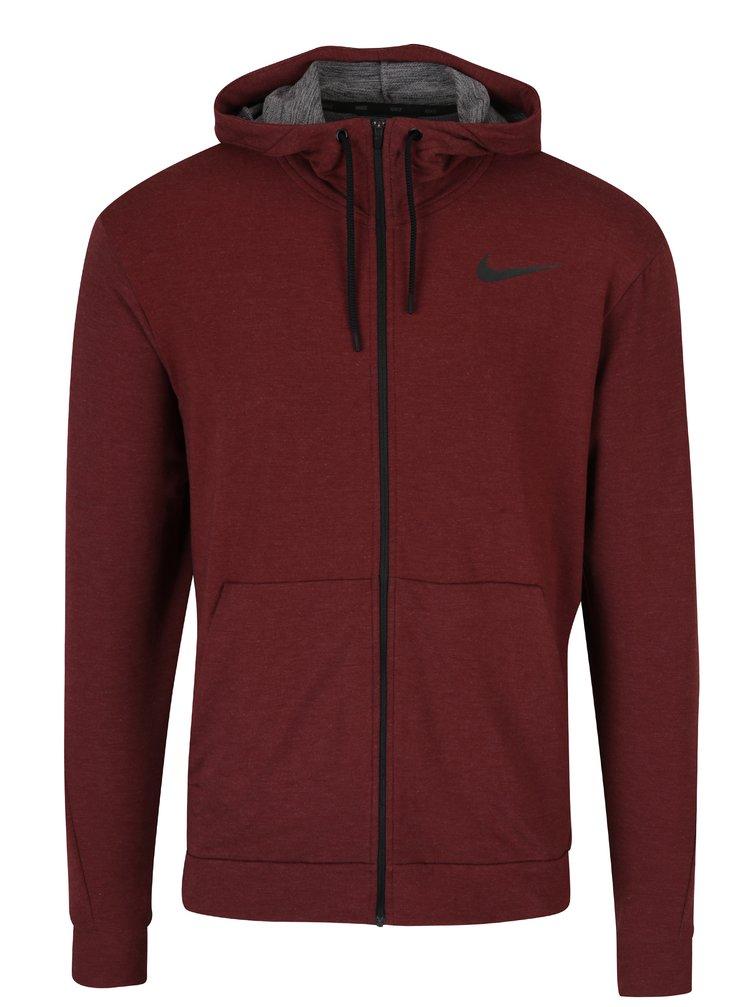 Hanorac roșu bordo pentru bărbați Nike Hoodie