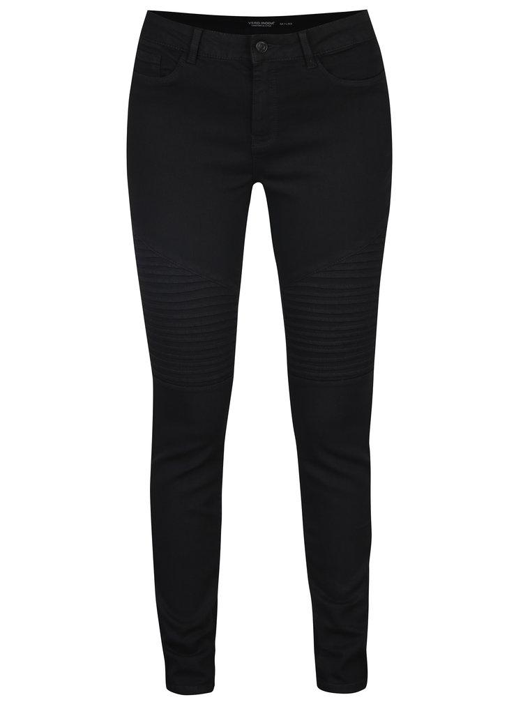 Černé skinny džíny VERO MODA Seven