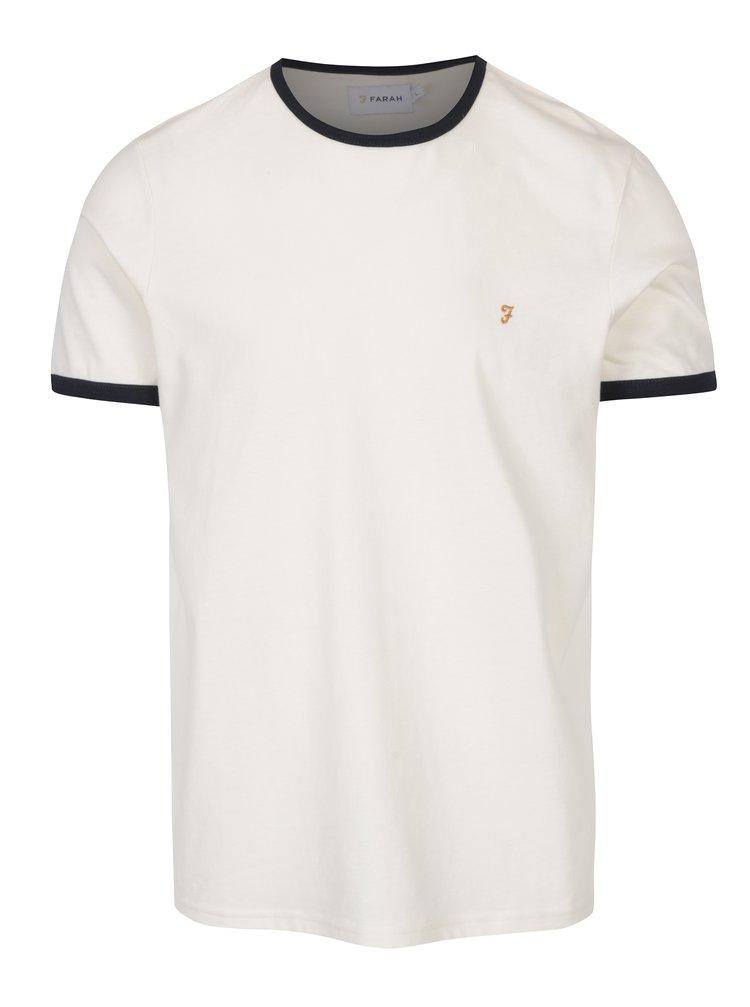 Krémové tričko Farah Groves