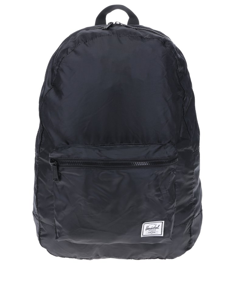 Černý skládací batoh Herschel Packable 24,5 l