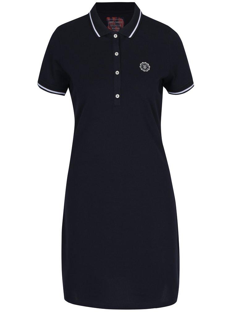Tmavě modré polo šaty Jimmy Sanders