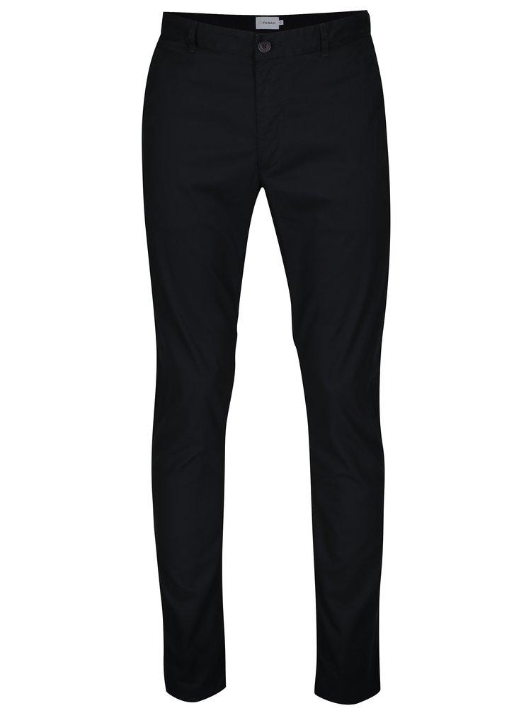 Pantaloni chino negri Farah Twill