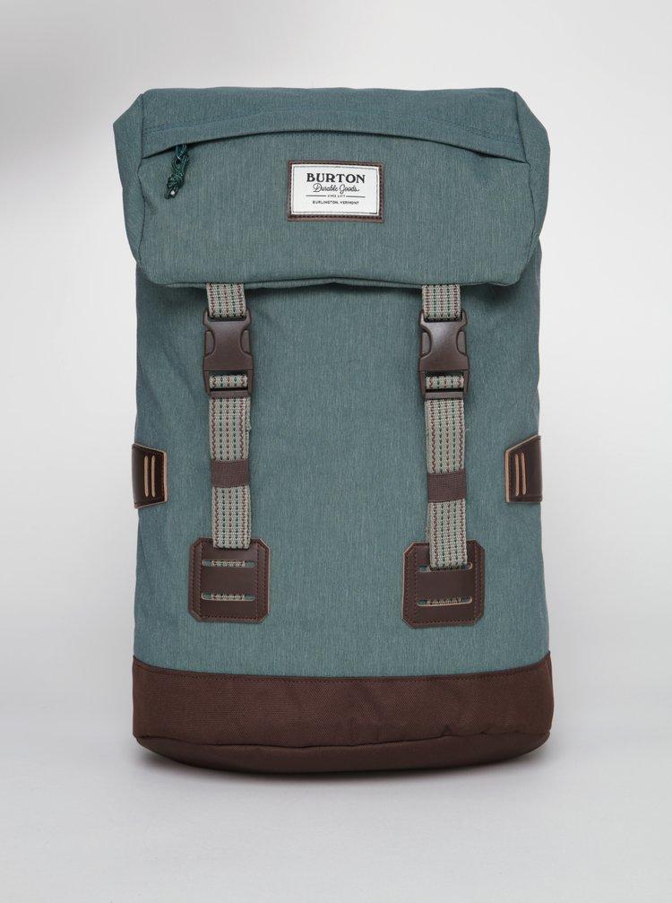 Zelený žíhaný batoh Burton Tinder 25 l