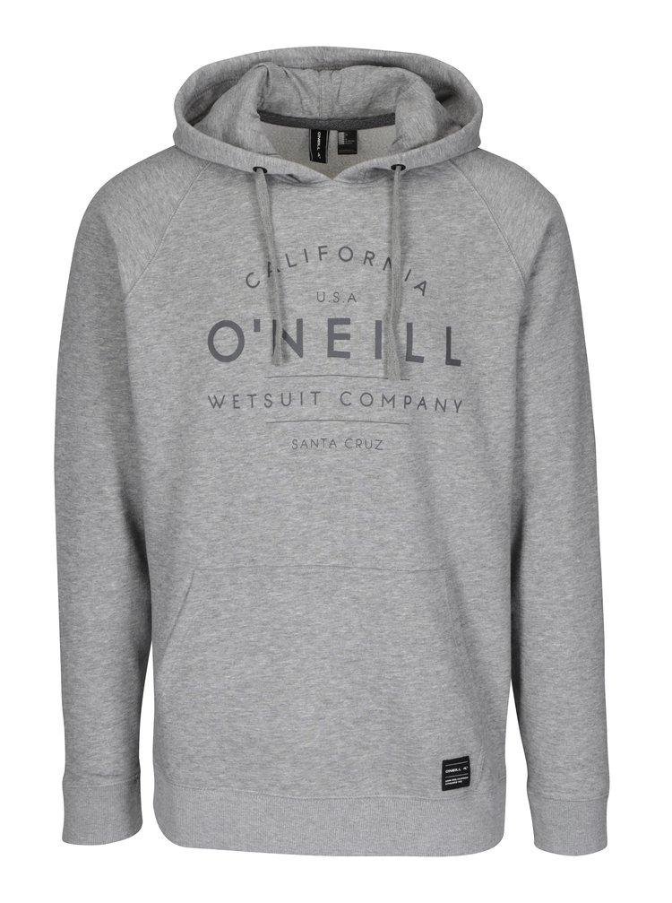 Hanorac gri cu glugă O'Neill
