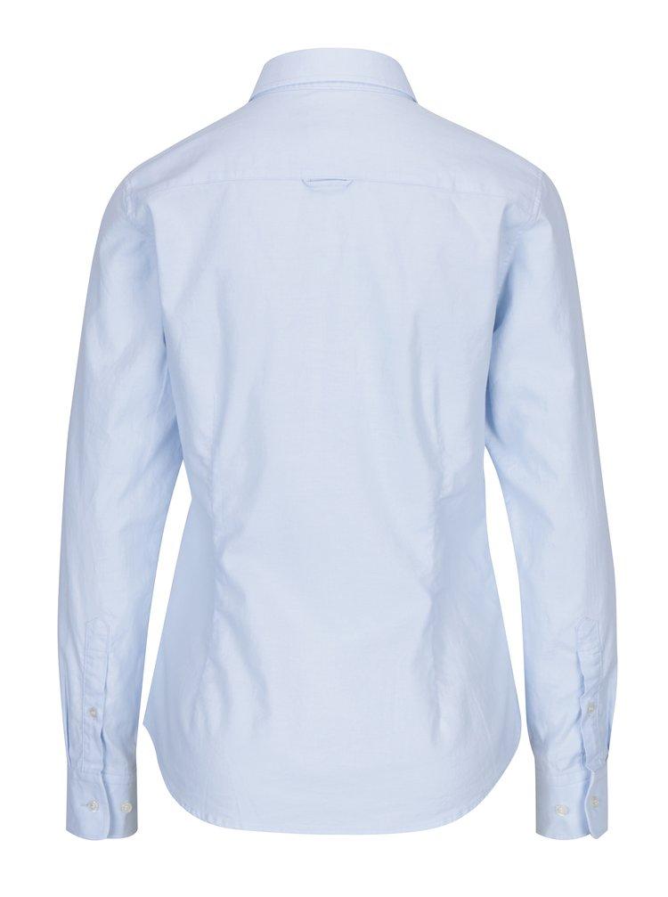 ... Světle modrá dámská slim košile GANT 180121f86c