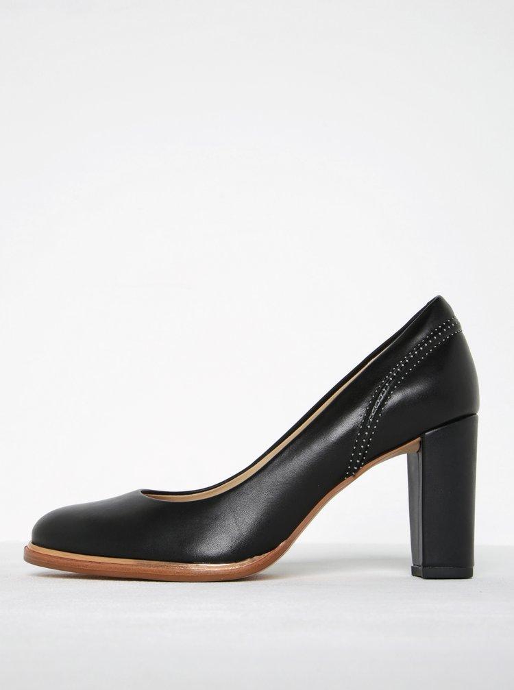 Pantofi negri din piele Clarks Ellis Edith