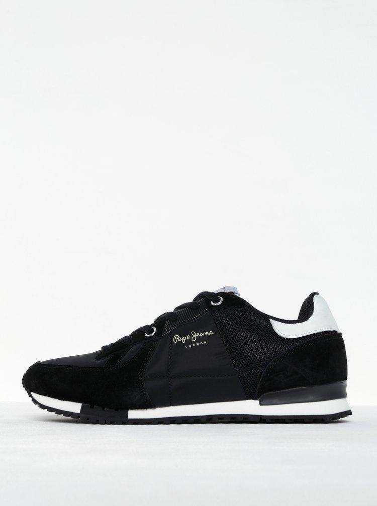 Pantofi sport negri pentru bărbați Pepe Jeans Tinker Bold 17