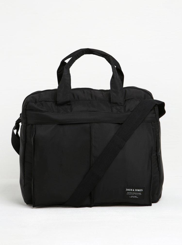 Geantă neagră pentru laptop -  Jack & Jones Jones
