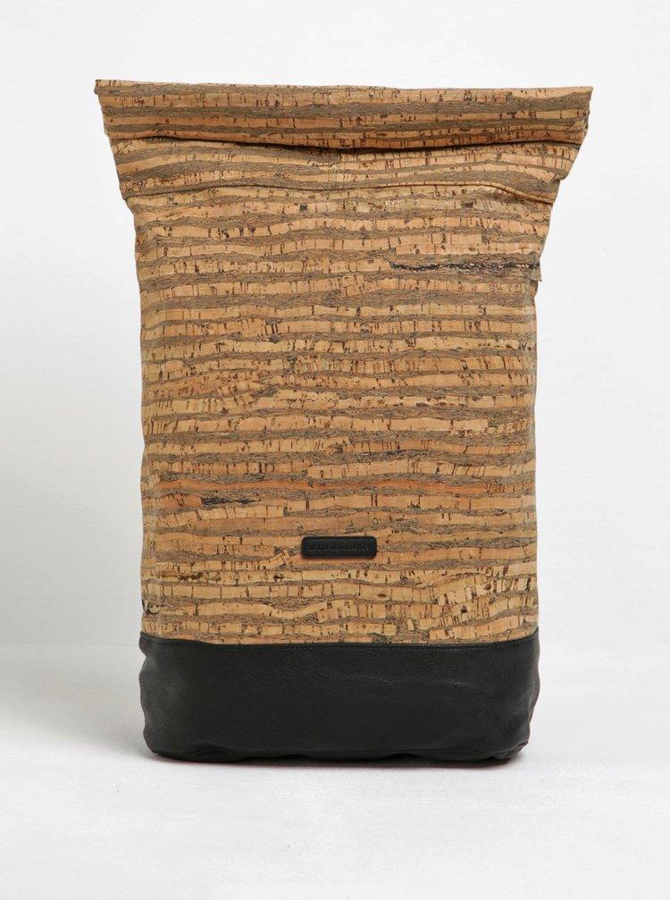 Černo-hnědý vzorovaný voděodolný  batoh UCON ACROBATICS Karlo 20 l