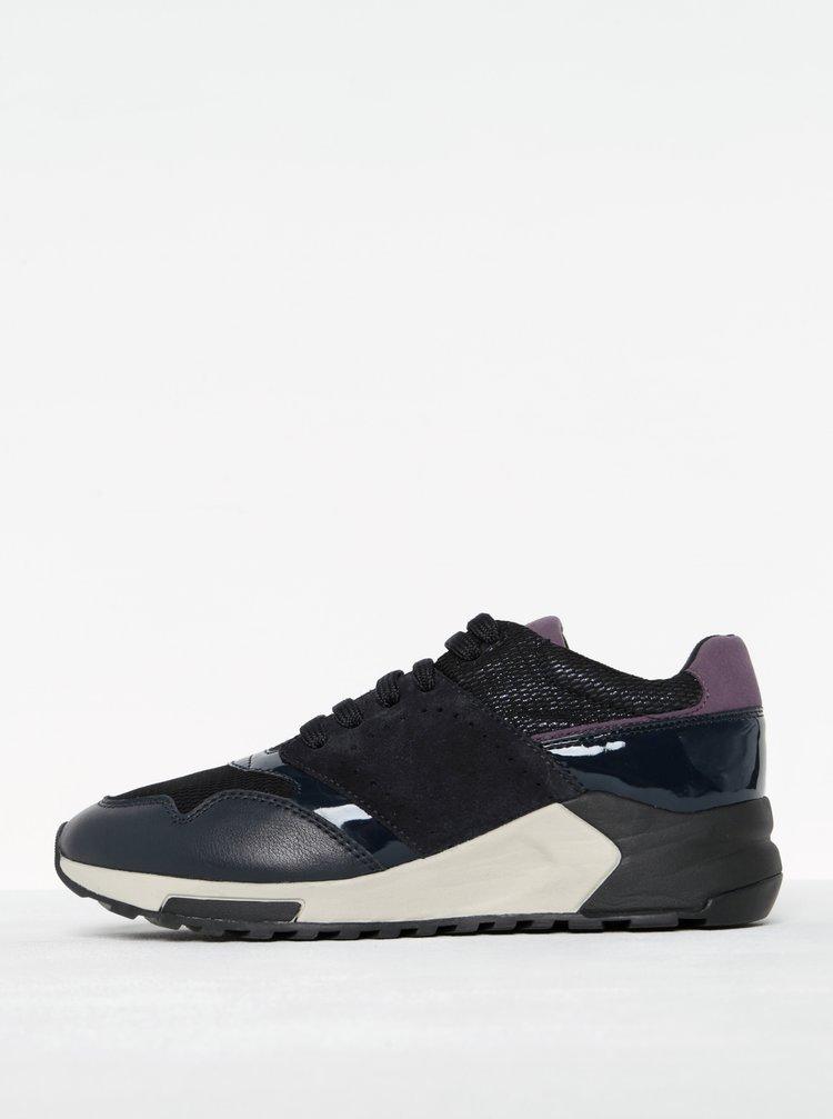 Pantofi sport mov închis pentru femei - Geox Phyteam A