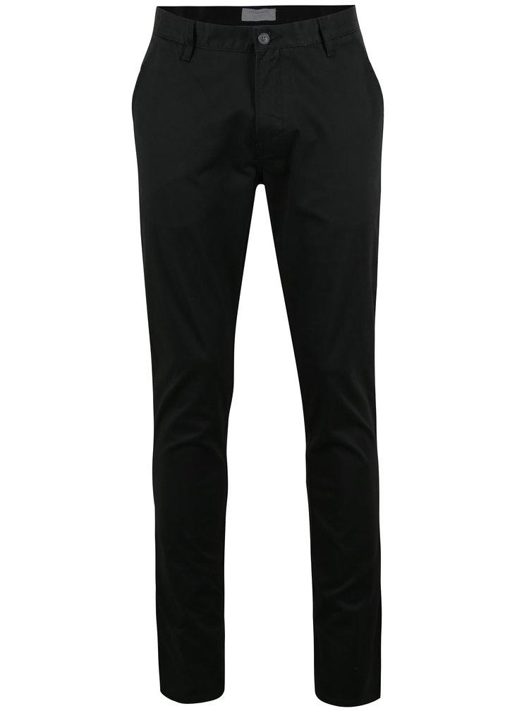 Čierne chino nohavice Lindbergh