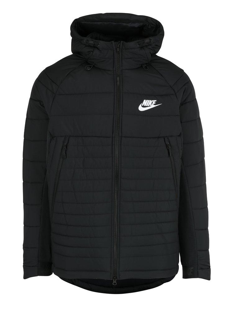 Geaca neagra matlasata pentru barbati  Nike Sportswear Fill