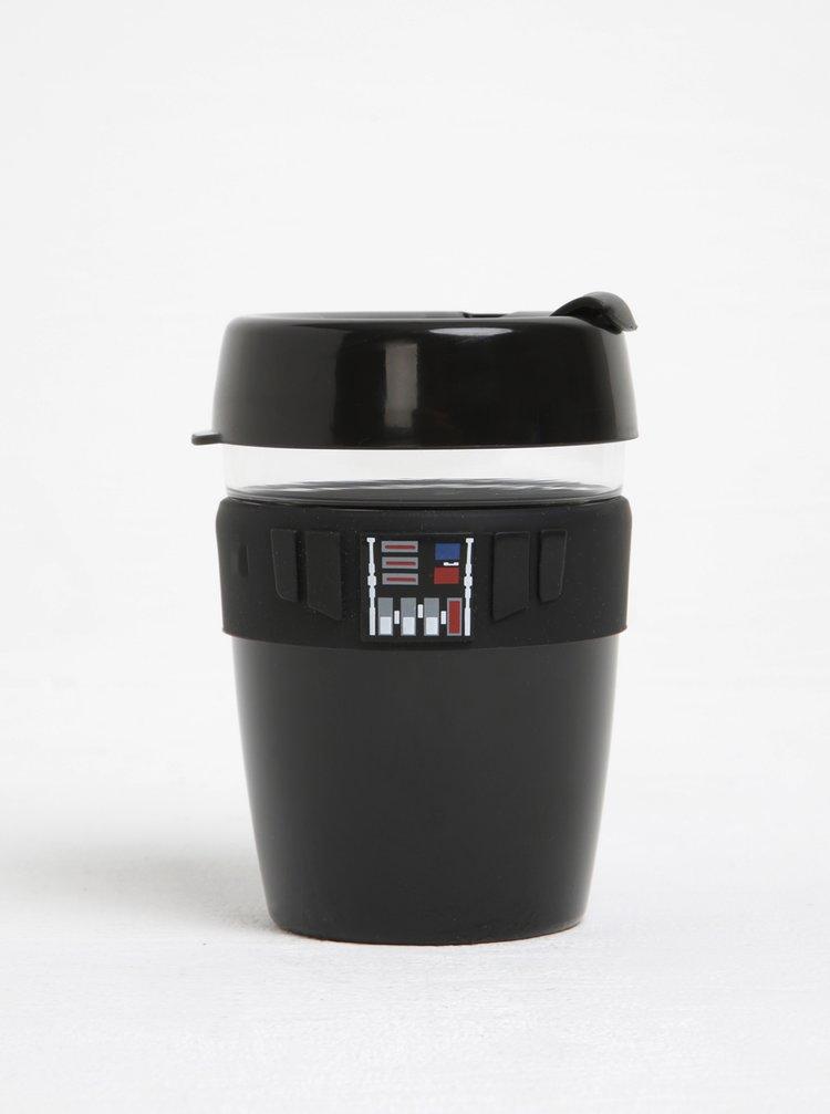 Designový cestovný sklenený hrnček s motívmi Star Wars KeepCup Darth Vader Longplay Medium