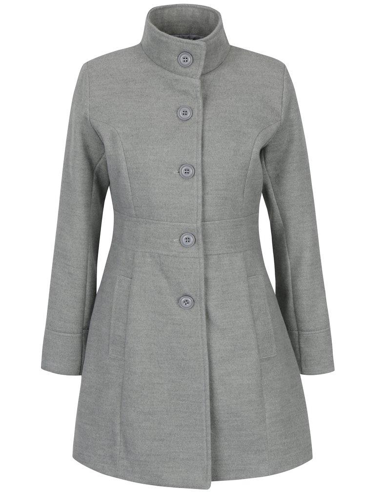 Světle šedý kabát ZOOT