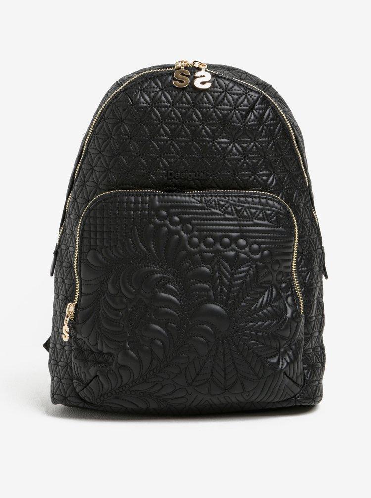 Černý vzorovaný batoh Desigual Lima Lottie