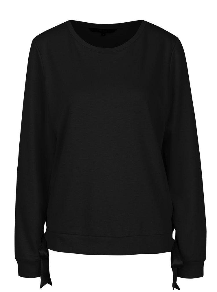 Bluza neagra cu funde VERO MODA Ari