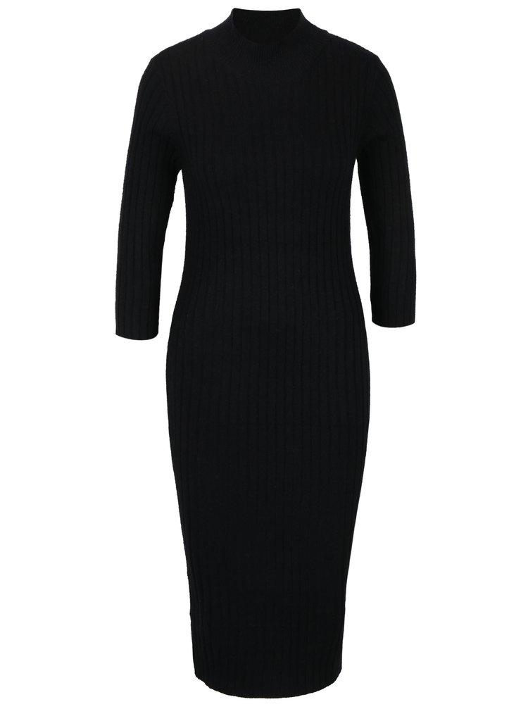 Rochie - pulover neagra VERO MODA Ava