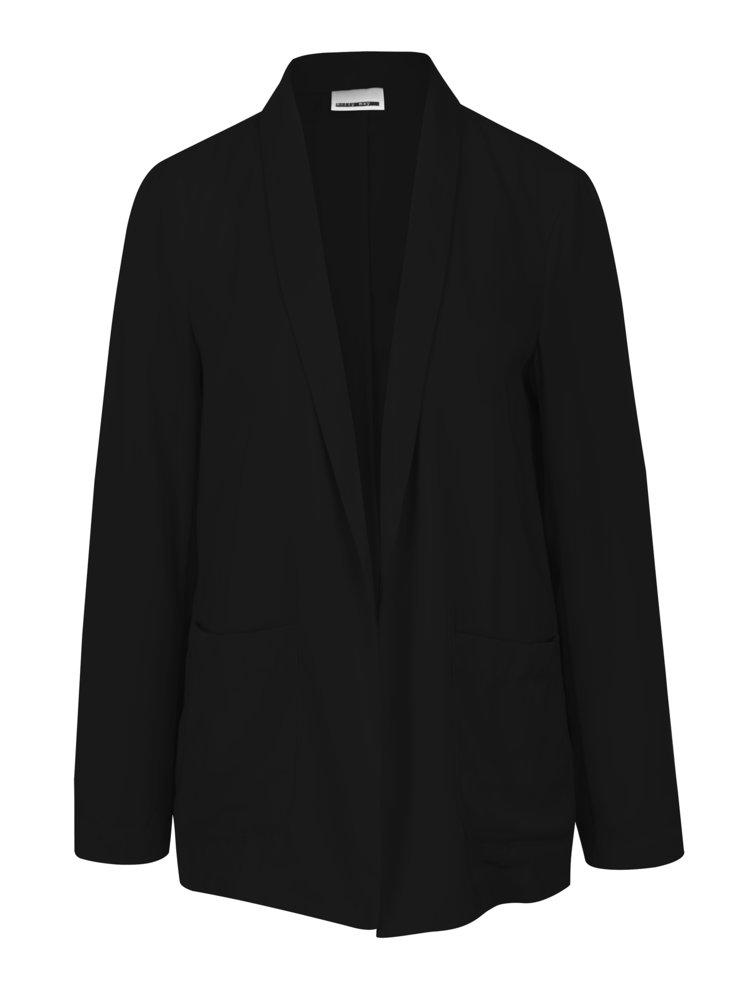 Černé sako s kapsami Noisy May Logan