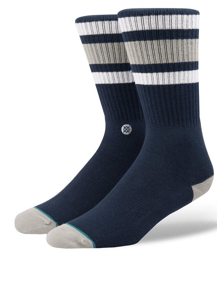 Tmavě modré pánské pruhované ponožky Stance Boyd 3