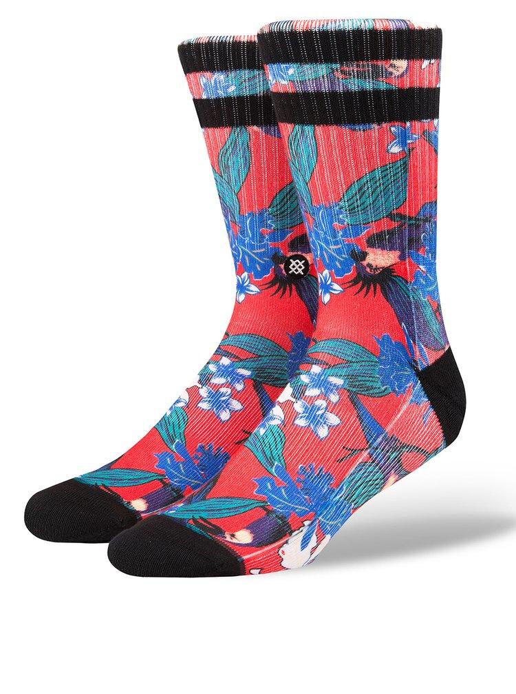 Sosete barbatesti multicolore cu print floral - Stance Buggin