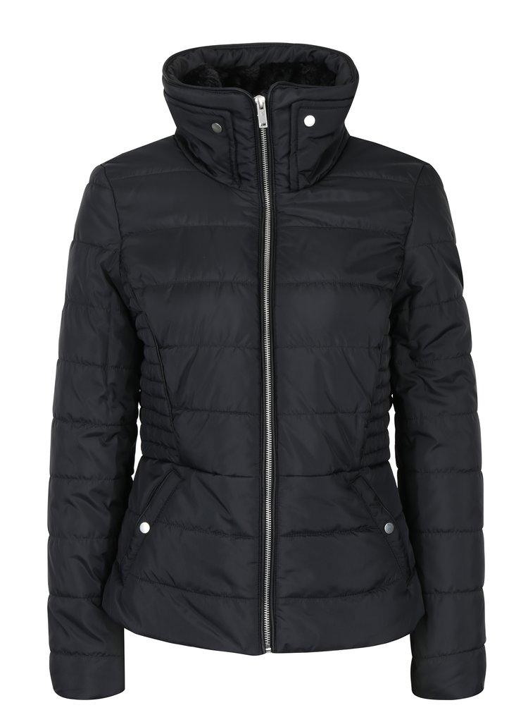 Černá prošívaná zimní bunda VERO MODA Clarissa