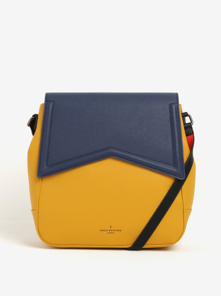 Geantă 2în1 albastru cu galben Paul's Boutique Zena