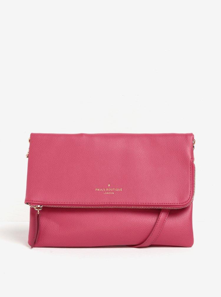 Růžová crossbody kabelka Paul's Boutique Effy