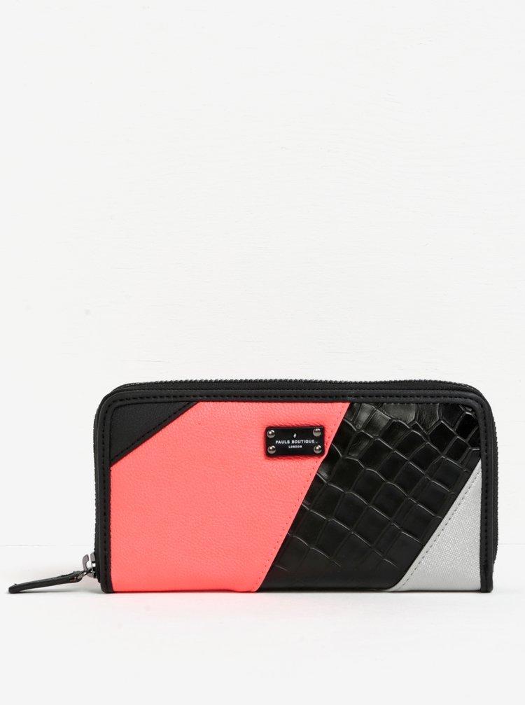 Černá peněženka se vzorem Paul's Boutique Lizzie
