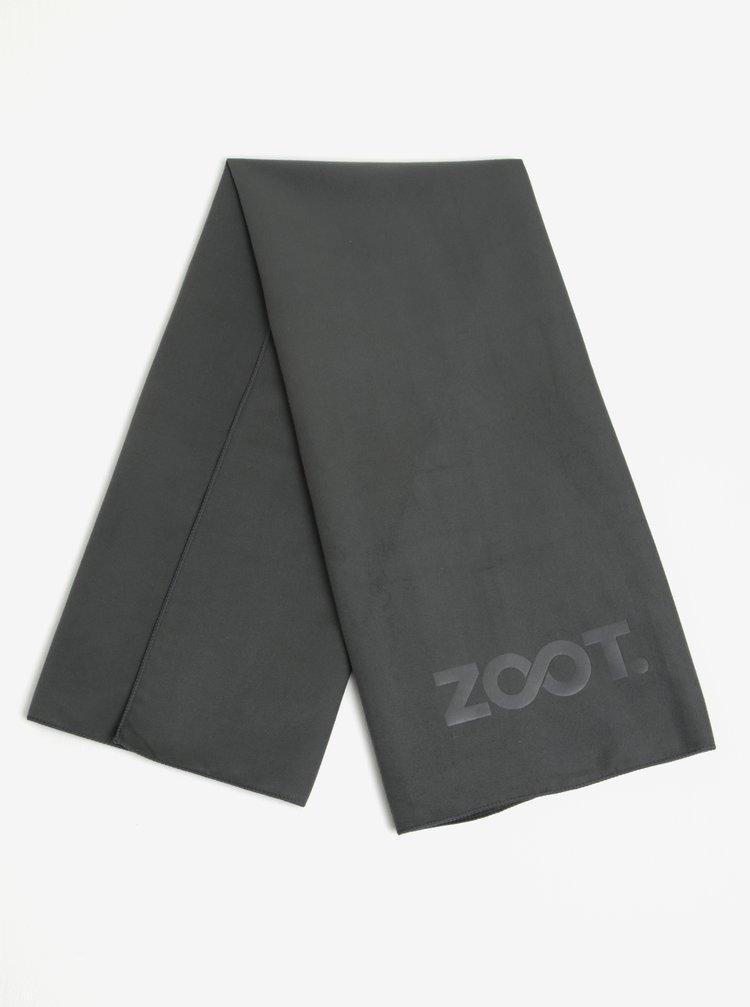 Šedý ručník z mikrovlákna ZOOT