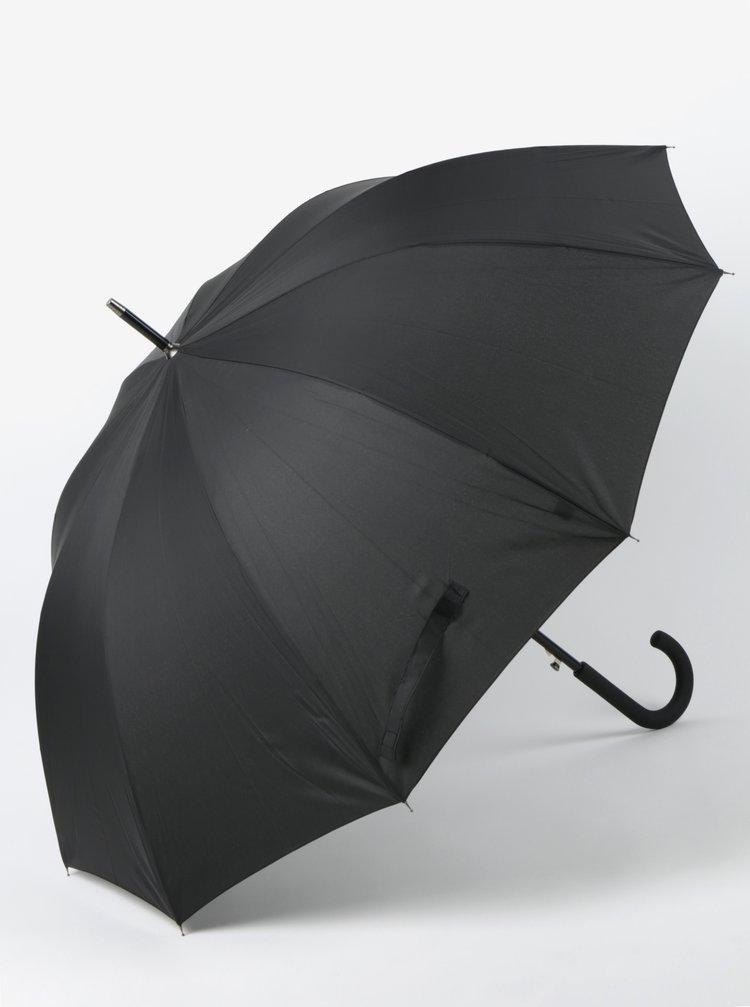 Umbrela neagra pliabila pentru barbati RAINY SEASONS Executive