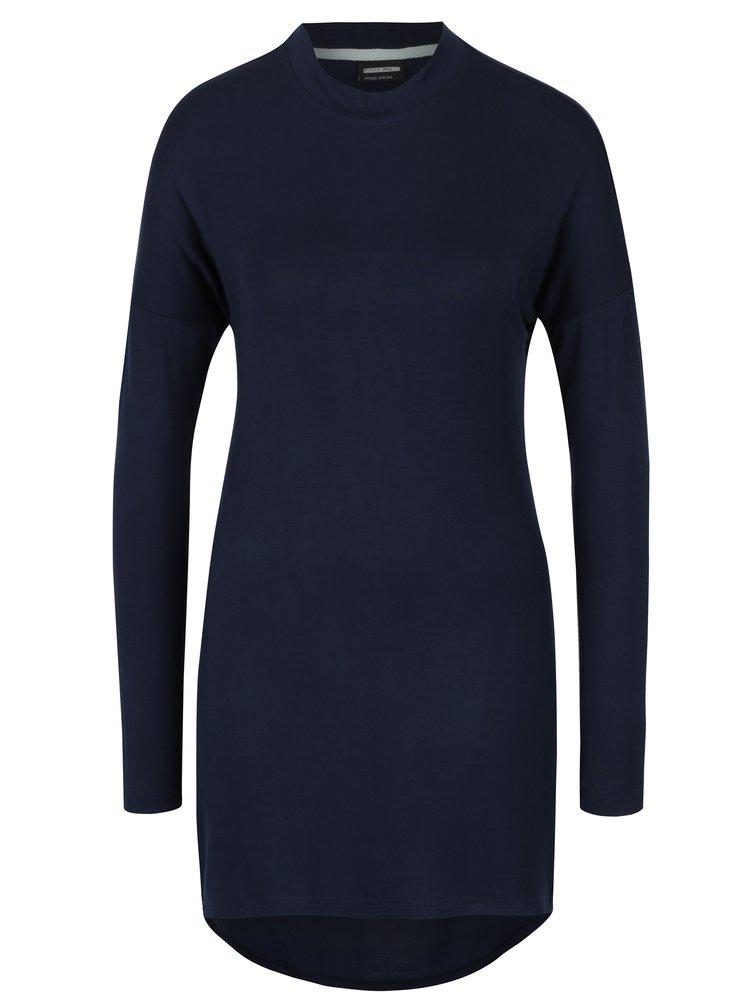 Tmavě modré šaty s holými zády Noisy May Devisonare