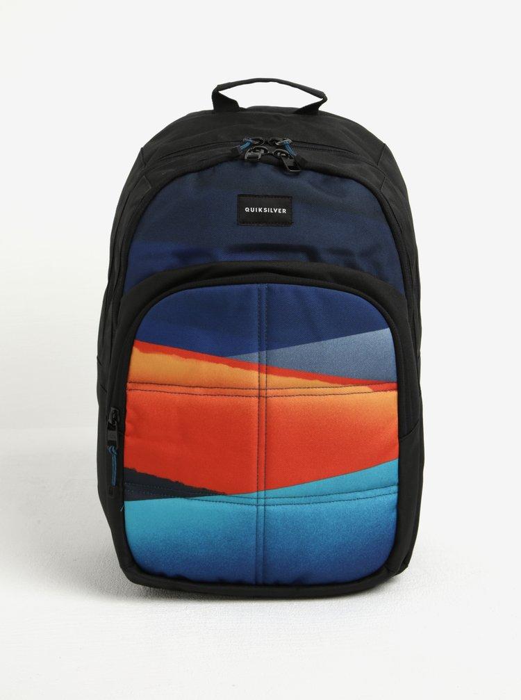 Rucsac negru&portocaliu si albastru pentru barbati Quiksilver 20 l