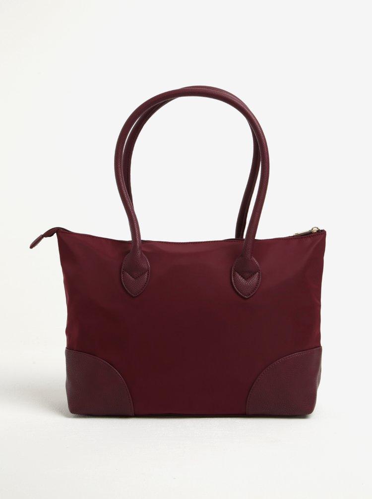 Vínová kabelka do ruky Dorothy Perkins