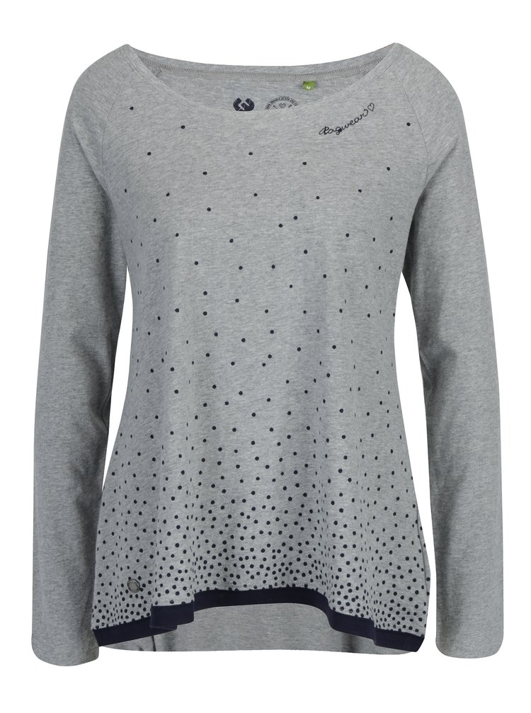 Bluza gri cu buline Ragwear Tilda Organic