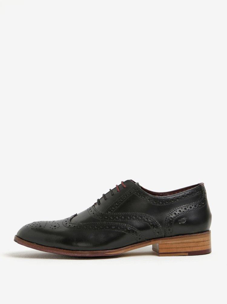 Pantofi brogue barbatesti din piele naturala -  London Brogues Wister Oxford