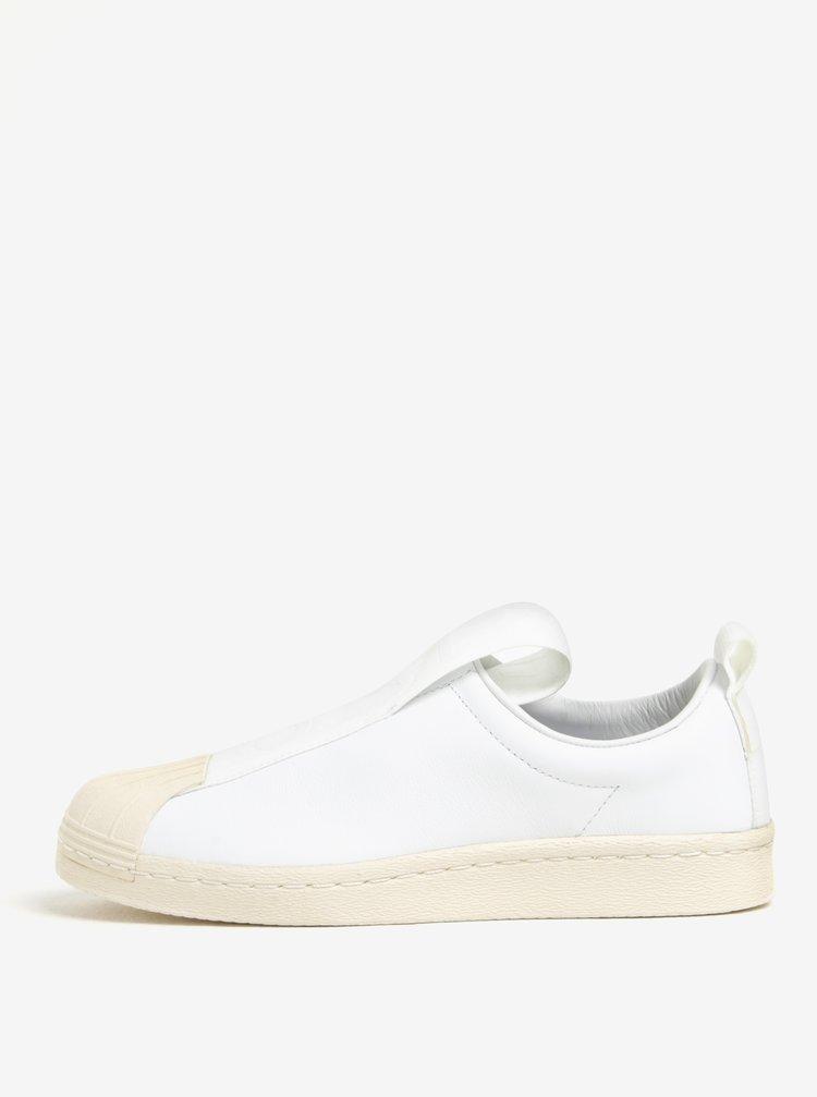 Pantofi sport albi pentru femei adidas Originals Superstar