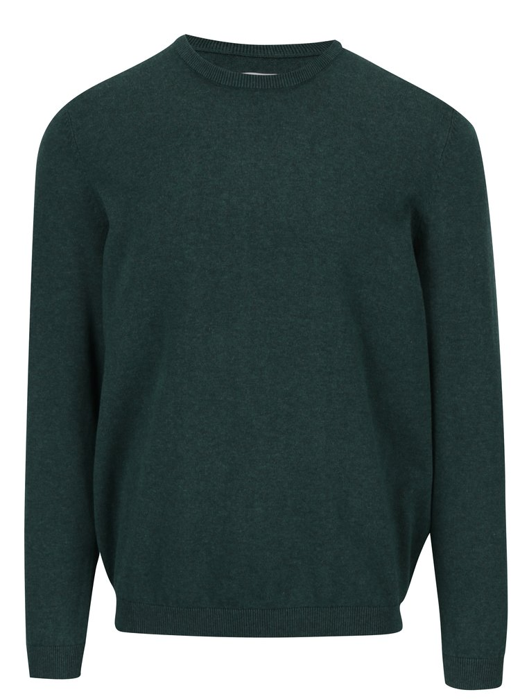 Pulover subtire verde cu croi lejer - ONLY & SONS Alex