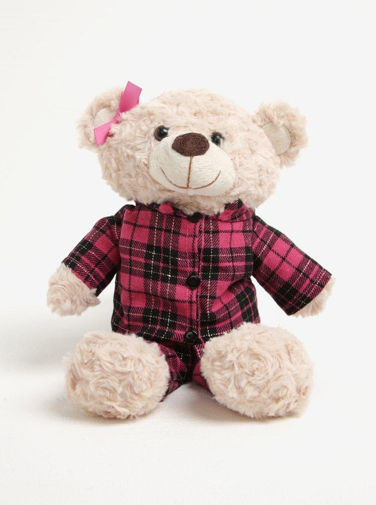 Ursulet de plus crem&roz calduros cu miros de levantica Something Special
