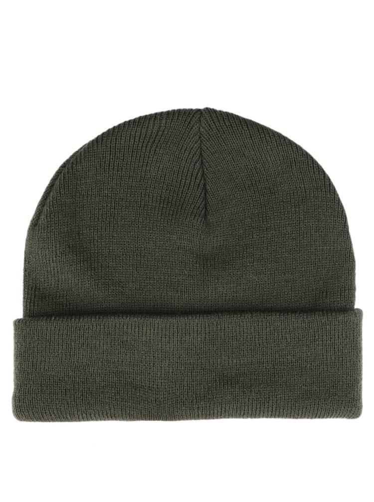 Zelená čepice VERO MODA Maran