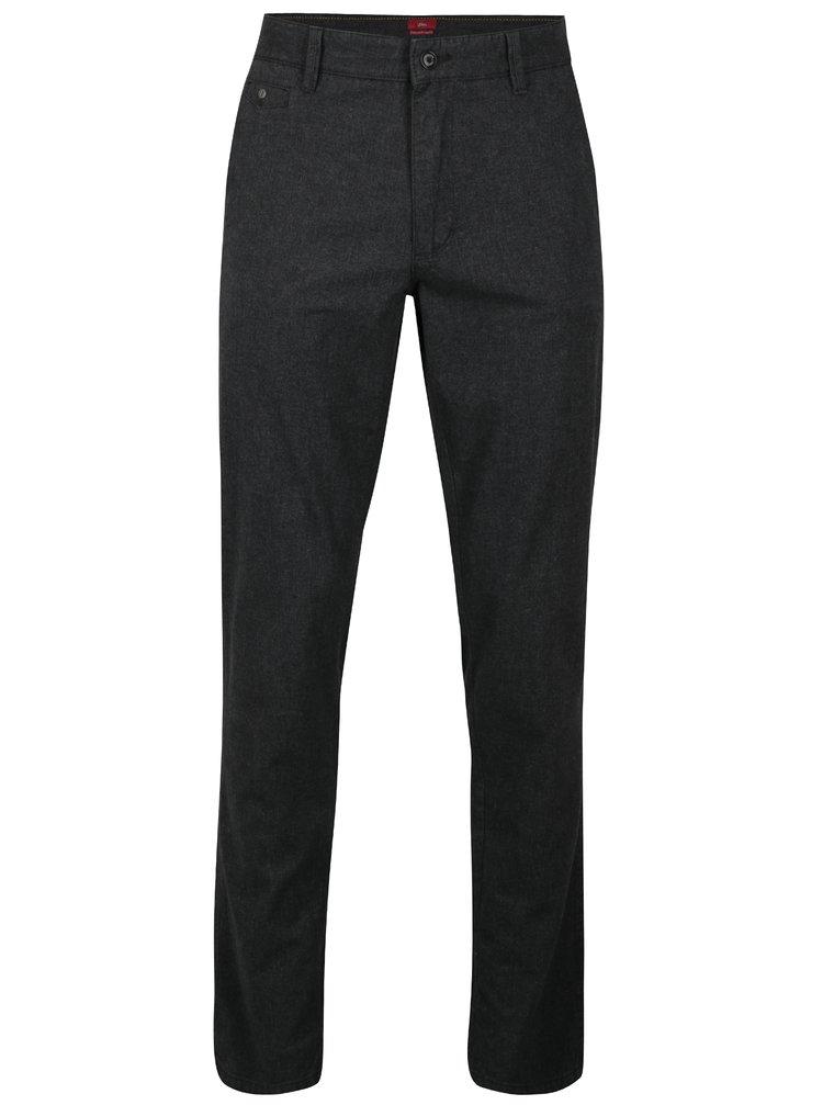 Pantaloni chino regular fit gri inchis pentru barbati s.Oliver