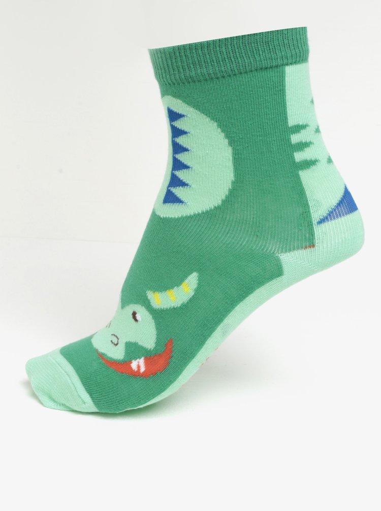 Zelené klučičí ponožky s motivem drakaCath Kidston