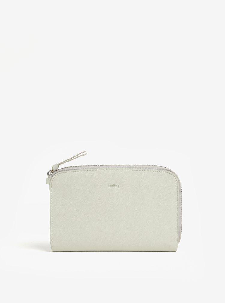 Krémová dámska kožená peňaženka Bellroy Pocket