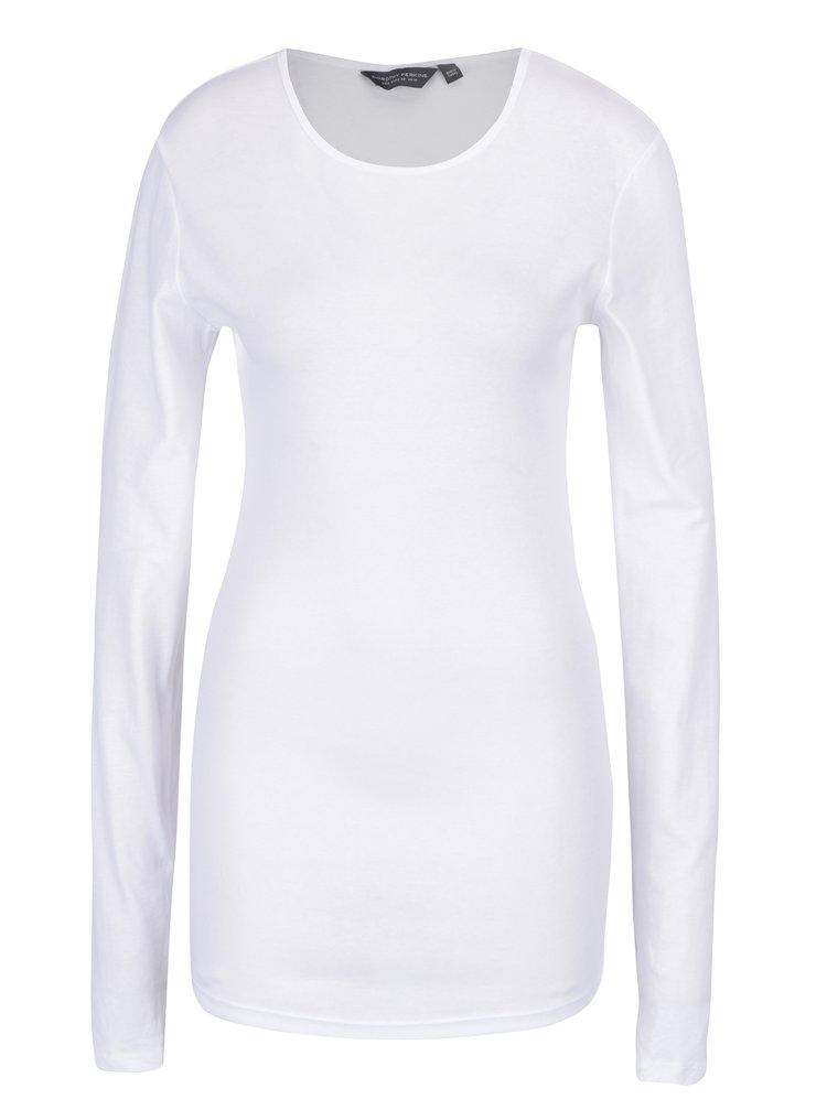 Bluza alba lunga basic - Dorothy Perkins Tall