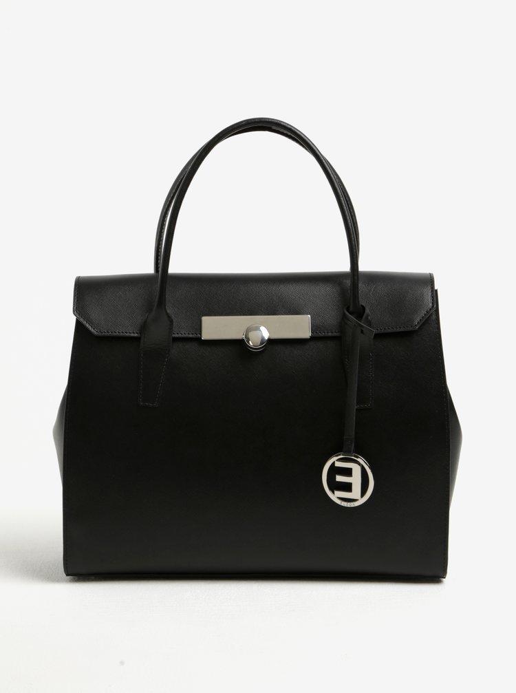 Čierna dámska kabelka Elega