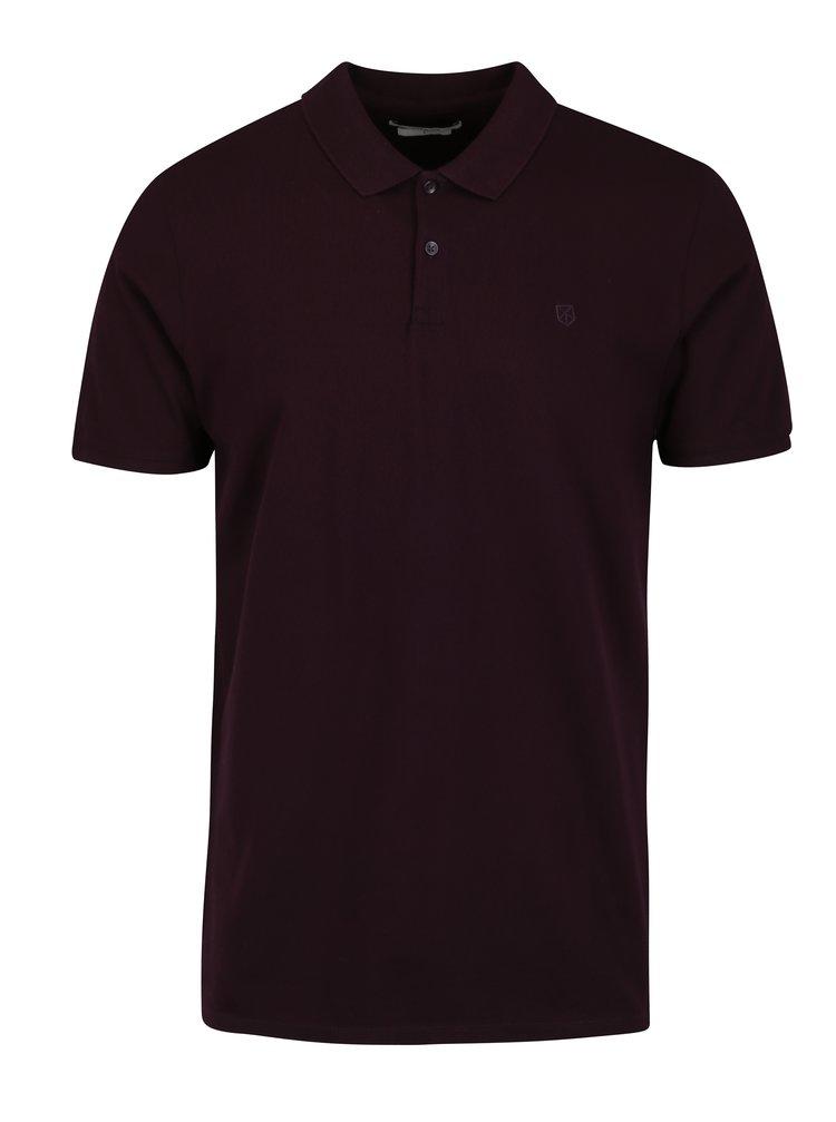 Tmavě fialové polo tričko Jack & Jones Premium Belfast