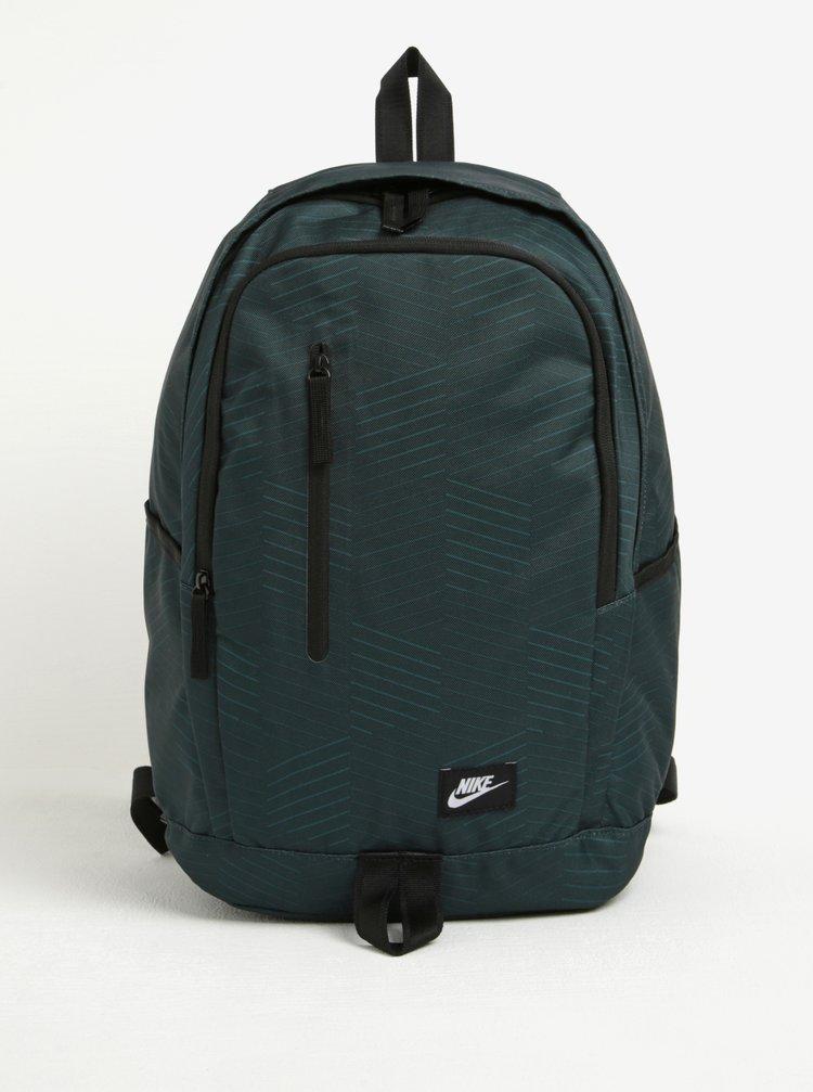 Tmavě zelený batoh Nike All Access Soleday 25 l