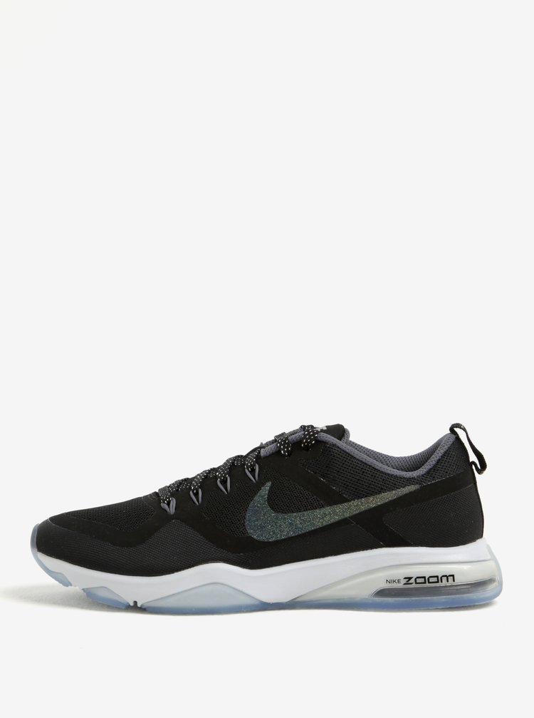 Pantofi sport negri pentru femei Nike Air Zoom Fittness